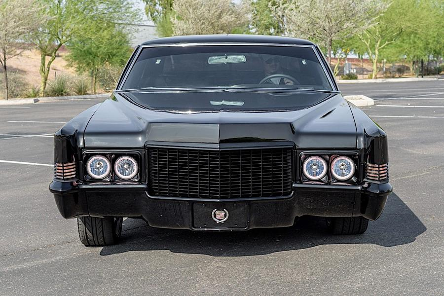 1970 Cadillac Coupe DeVille Restomod 3 Back to black   1970 Cadillac Coupe DeVille Restomod!