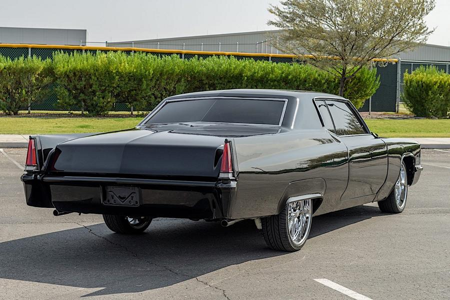 1970 Cadillac Coupe DeVille Restomod 4 Back to black   1970 Cadillac Coupe DeVille Restomod!