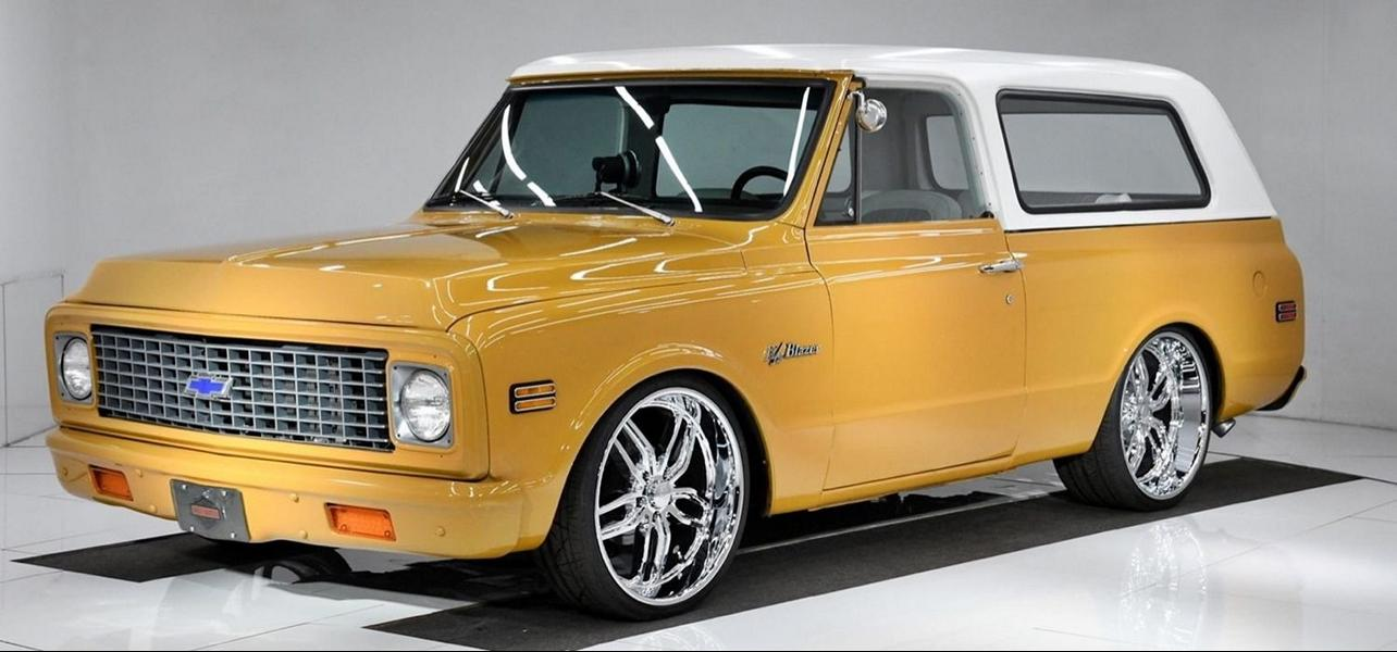 1972 Chevrolet Blazer restomod Tuning V8 3 Video: 600 PS starker 1972er Chevy Blazer als Restomod!