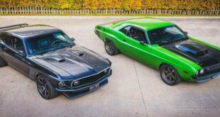 "1974 Challenger Hellcat vs. 1970 Mustang SVT Terminator Cobra 310x165 1974 Challenger Hellcat vs. 1970 Mustang SVT ""Terminator"" Cobra"