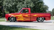 1985 Chevy Pickup Project Red Rocker Restomod Tuning 1 190x107 Feuer & Flamme! 1985 Chevy Pickup als Project Red Rocker!