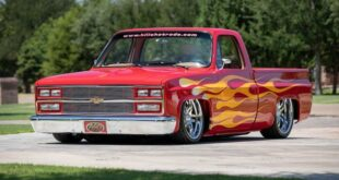 1985 Chevy Pickup Project Red Rocker Restomod Tuning 4 310x165 Feuer & Flamme! 1985 Chevy Pickup als Project Red Rocker!