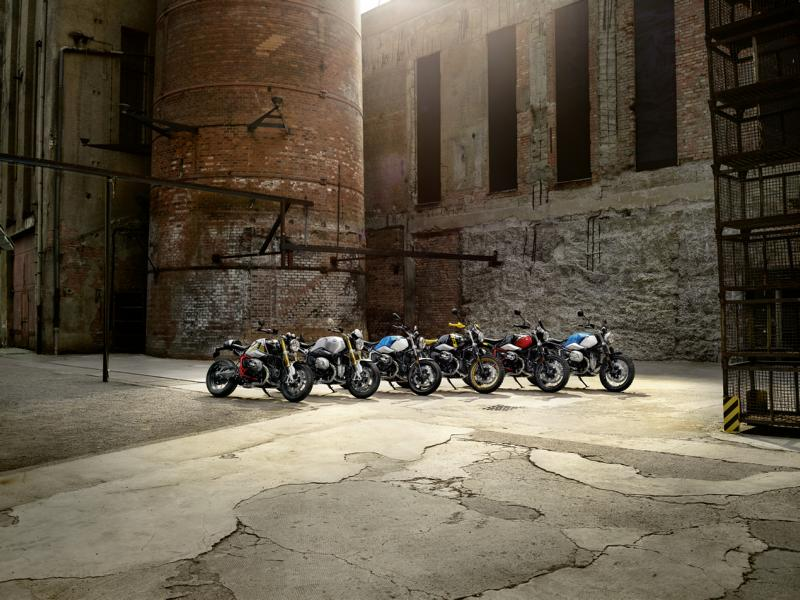 2020 BMW R nineT models 59 Officially, these are the new BMW R nineT models!