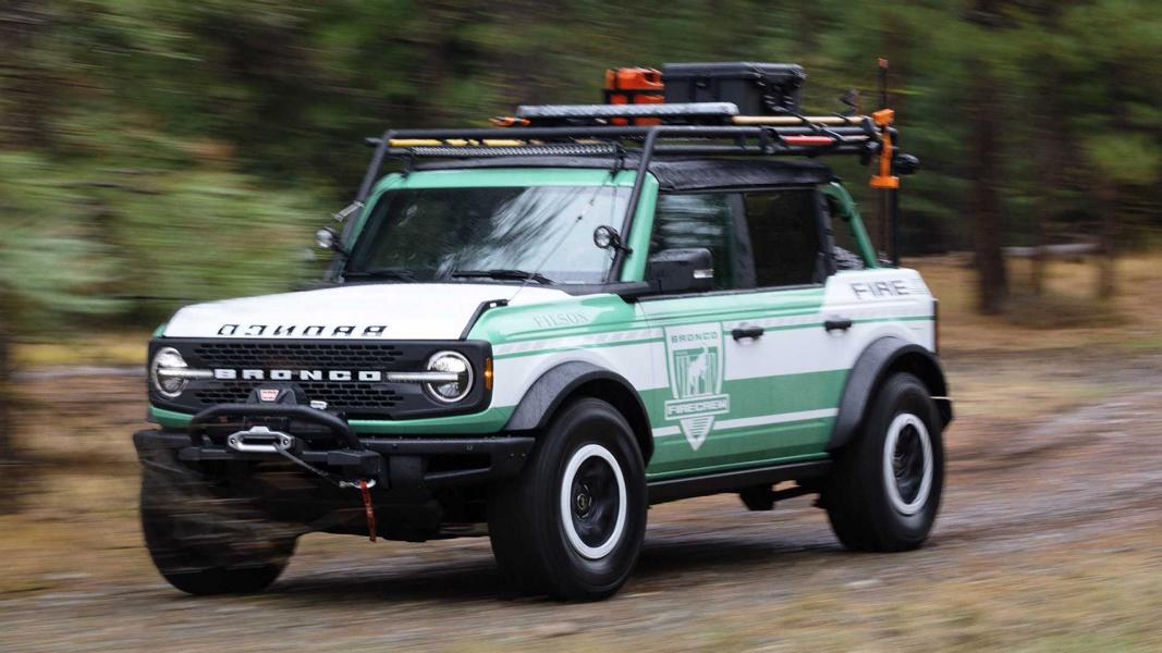 2020 Ford Bronco Wildland Fire Rig Concept Tuning 4 Einsatzfahrzeug   2020 Ford Bronco Wildland Fire Rig!