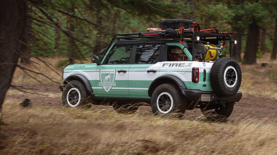 2020 Ford Bronco Wildland Fire Rig Concept Tuning 9 Einsatzfahrzeug   2020 Ford Bronco Wildland Fire Rig!