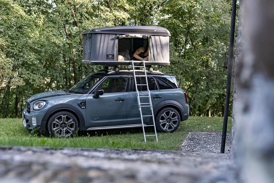 2020 MINI Cooper S Countryman ALL4 roof tent Tuning 10 2020 MINI Cooper S Countryman ALL4 with roof tent!