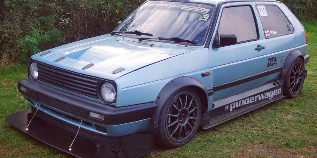 440 PS VW Golf 2 CL 2.0 16V pram tuning 1050x525 extremely fast 440 PS VW Golf 2 CL 2.0 16V pram!