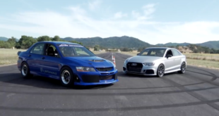 800 PS Mitsubishi Lancer Evo 8 vs. 800 PS Audi RS3 310x165 Video: Audi TT RS *HUGE TURBO* mit 9 Sekunden Zeit!