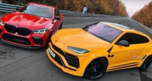 860 PS BMW X6 M vs. 860 PS Lamborghini Urus Widebody 310x165 Video: 860 PS BMW X6 M vs. 860 PS Lamborghini Urus Widebody!