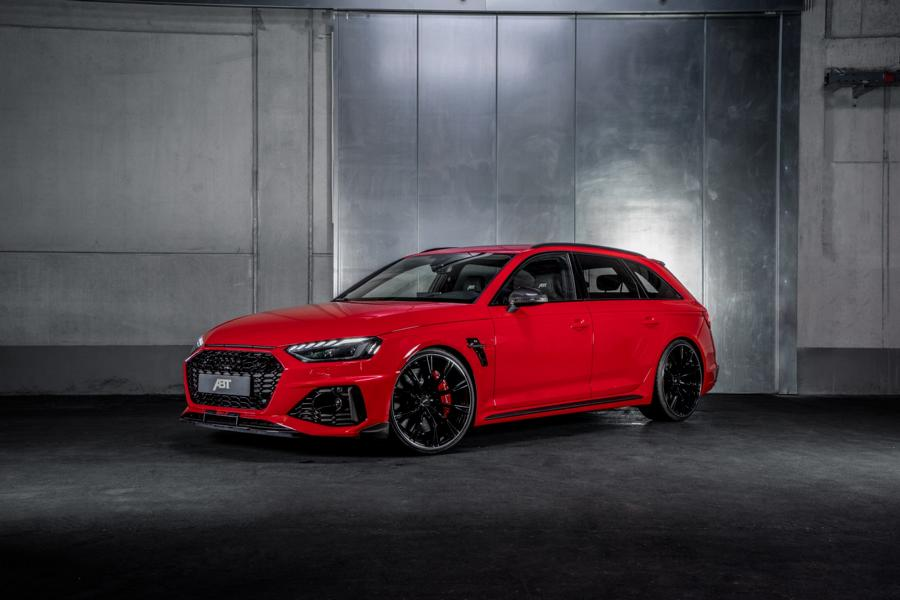 ABT Sportsline Audi RS4 Avant RS4 S B9 Tuning 1 Sondermodell   ABT Sportsline Audi RS4 Avant als RS4 S!
