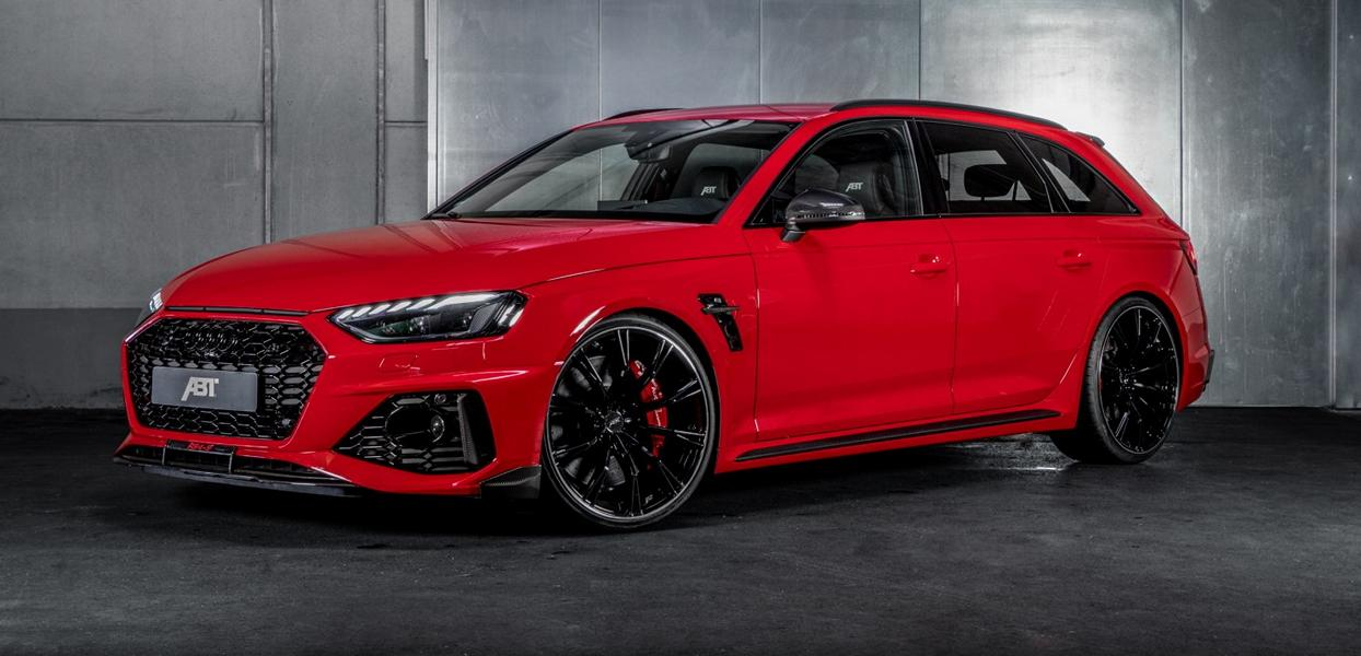 ABT Sportsline Audi RS4 Avant RS4 S B9 Tuning 2 Sondermodell   ABT Sportsline Audi RS4 Avant als RS4 S!