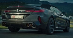 Akrapovic Titan Sportauspuffanlage am BMW M8 310x165 Video: Akrapovic Titan Sportauspuffanlage am BMW M8!