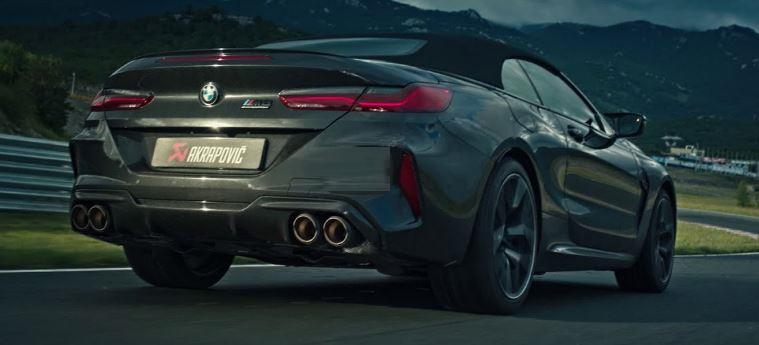 Akrapovic Titan Sportauspuffanlage am BMW M8 Video: Akrapovic Titan Sportauspuffanlage am BMW M8!