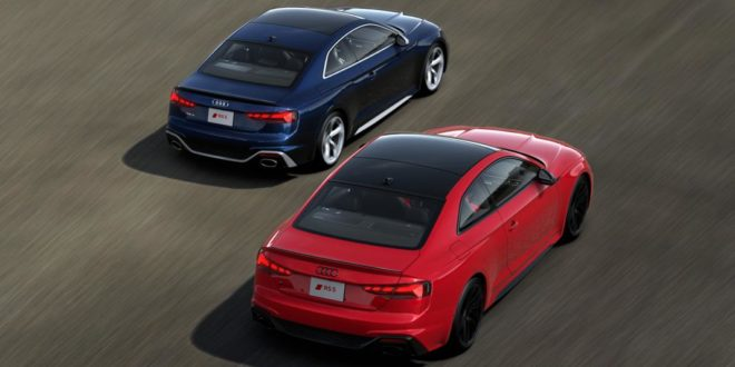 2 x limited Edition: 2021 Audi RS5 Coupe und Sportback!