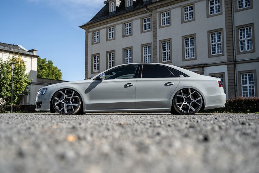 Audi S8 4H Tuning Project X Felgen JMS Barracuda 3 Ultraschick und ultratief   Audi S8 auf Project X Felgen!