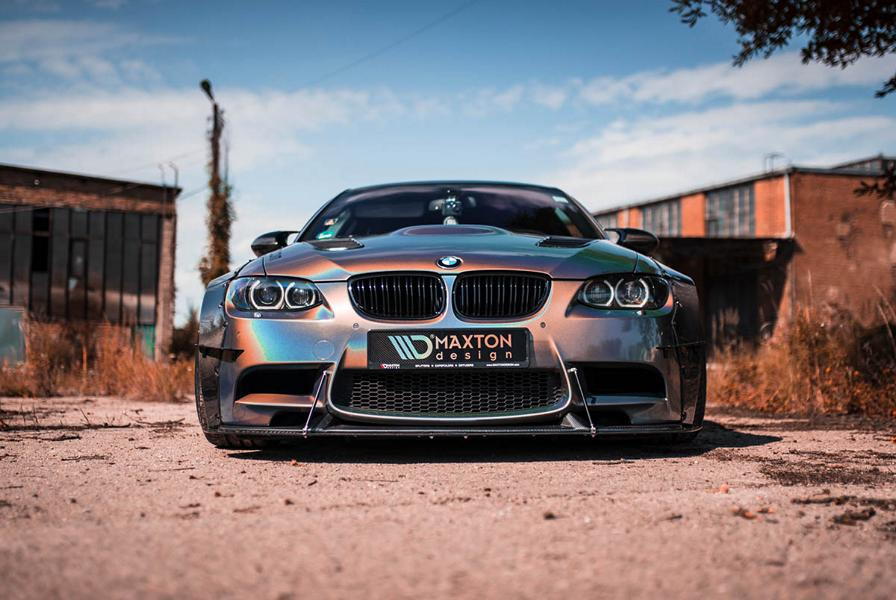 BMW M3 E92 Coupe Maxton Widebody Tuning 3 BMW M3 (E92) Coupe mit Maxton Widebody Tuning!