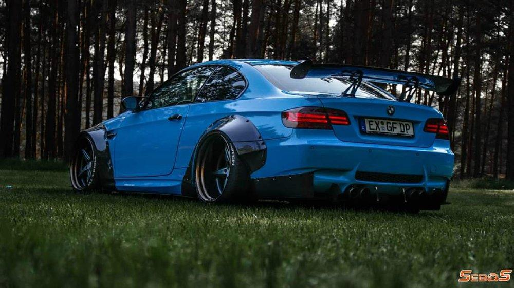 BMW M3 E92 Coupe mit Maxton Widebody Tuning 1 BMW M3 (E92) Coupe mit Maxton Widebody Tuning!