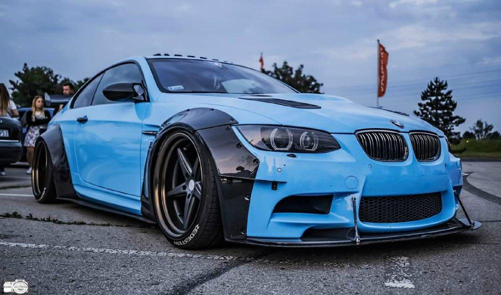 BMW M3 E92 Coupe mit Maxton Widebody Tuning 2 BMW M3 (E92) Coupe mit Maxton Widebody Tuning!