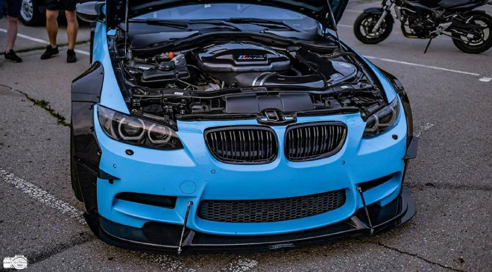 BMW M3 E92 Coupe mit Maxton Widebody Tuning 4 BMW M3 (E92) Coupe mit Maxton Widebody Tuning!