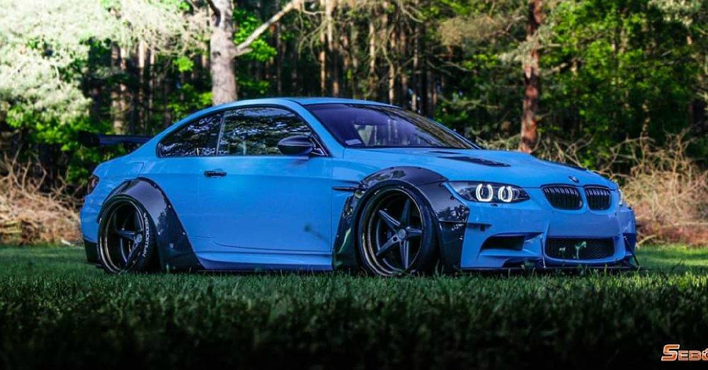 BMW M3 E92 Coupe mit Maxton Widebody Tuning 5 BMW M3 (E92) Coupe mit Maxton Widebody Tuning!