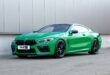 The green machine: H&R Sportfedern für BMW M8 Coupe