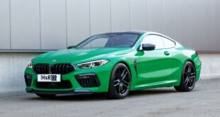 BMW M8 Competition Coupe Sportfedern Front 310x165 The green machine: H&R Sportfedern für BMW M8 Coupe