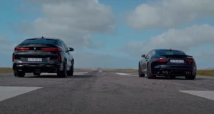 BMW X6 Performance vs. Jaguar F Type R AWD 310x165 Video: BMW X6 Performance vs. Jaguar F Type R AWD!