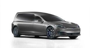 Binz.E Tesla Models S emissionsfrei 2020 Umbau Tuning 1 310x165 Mit dem Binz.E Tesla Models S emissionsfrei auf die letzte Fahrt!
