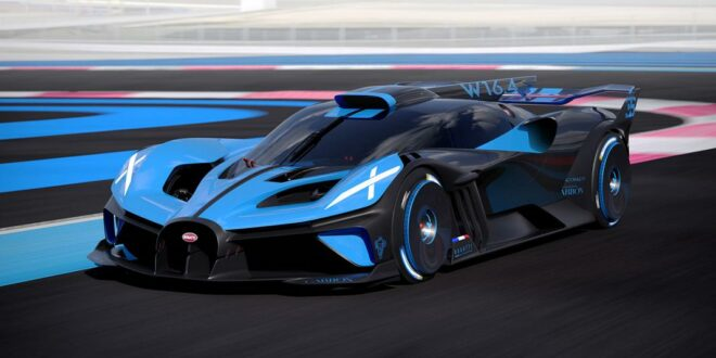 "Das Design des Bugatti Bolide -""Form follows performance"""