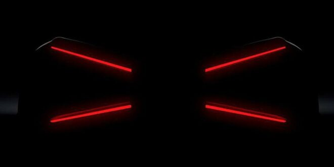 New Bugatti hypercar? Teaser shows X-taillights!