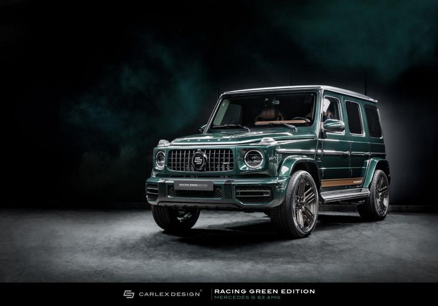 Carlex Design Mercedes G Klasse Racing Green Edition G63 AMG W463A 3 Carlex Design Mercedes G Klasse Racing Green Edition!