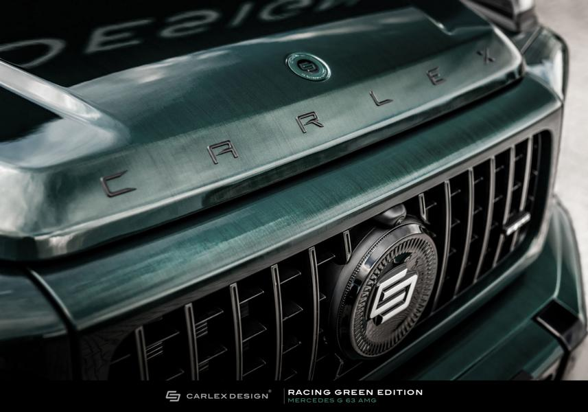 Carlex Design Mercedes G Klasse Racing Green Edition G63 AMG W463A 9 Carlex Design Mercedes G Klasse Racing Green Edition!