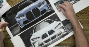 Chip Foose the BMW M3M4 kidneys in front of 3 310x165 Video: This is how Chip Foose imagines the BMW M3 / M4 kidneys!