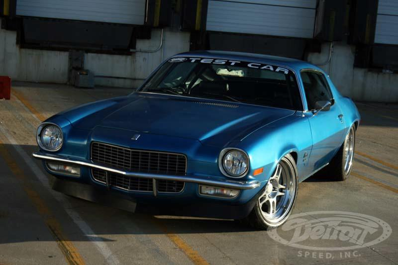Detroit Speed 1970 Chevrolet Camaro GM 7.0L LS7 V8 Restomod 62 Video: 1970 Chevrolet Camaro mit GM 7.0L LS7 V8 Power!