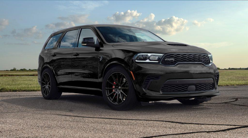 Dodge Durango SRT Hellcat Hennessey Performance Tuning HPE1000 1 Dodge Durango SRT Hellcat with 1.012 PS from Hennessey!