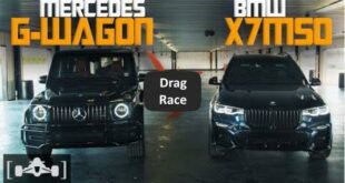 Drag race BMW X7 M50i vs. Mercedes G63 AMG 310x165 Video: Nissan GT R RWD gegen Trans Am Camaro Race Car!
