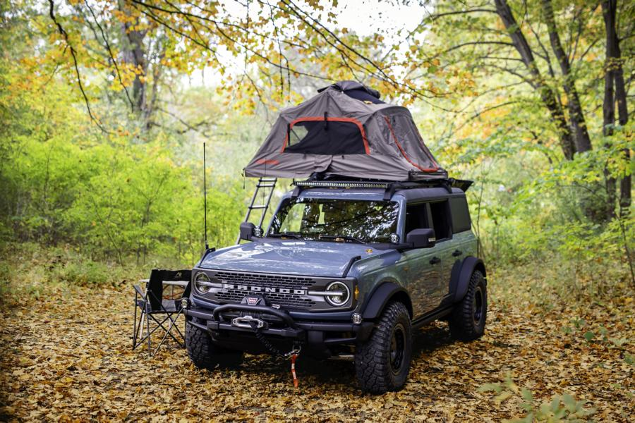 Ford Bronco Overland Concept Tuning 1 Perfect Camper: 2020 Ford Bronco Overland Concept!