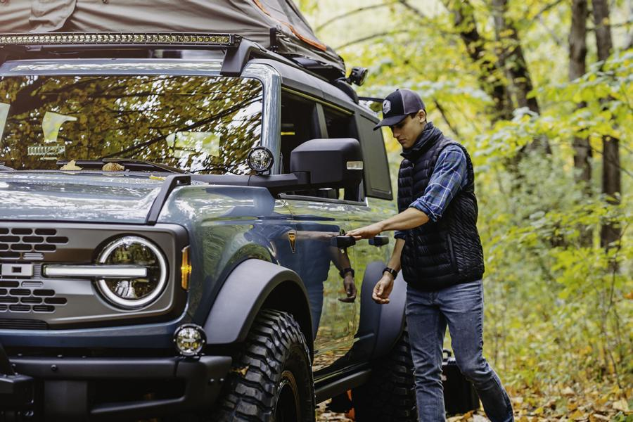 Ford Bronco Overland Concept Tuning 8 Perfect Camper: 2020 Ford Bronco Overland Concept!