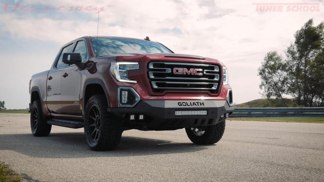 GMC Sierra AT4 vom Tuner Hennessey Performance Video: GMC Sierra AT4 vom Tuner Hennessey Performance!