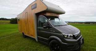Wooden mobile motorhomes Camper body wood 1 310x165 wooden mobile motorhomes with camper body made of wood!