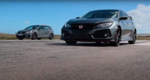 Honda Civic Type R vs. Volkswagen Golf GTI TCR 310x165 Video: Honda Civic Type R vs. Volkswagen Golf GTI TCR!