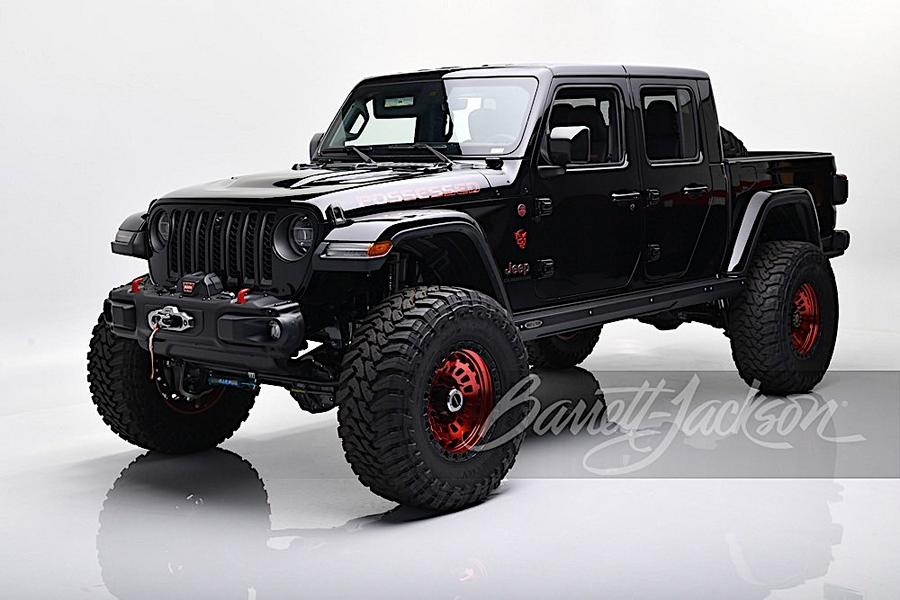 Jeep Gladiator Launch Edition mit Hellcat V8 Triebwerk 1 Jeep Gladiator Launch Edition mit Hellcat V8 Triebwerk!