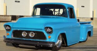 LS2 BiTurbo V8 Chevrolet Pickup Tuning 3 310x165 Video: Dieser 1956er LS2 Chevrolet Pickup hat 2.000 PS!