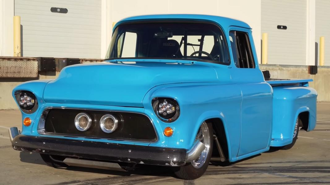 LS2 BiTurbo V8 Chevrolet Pickup Tuning 3 Video: Dieser 1956er LS2 Chevrolet Pickup hat 2.000 PS!