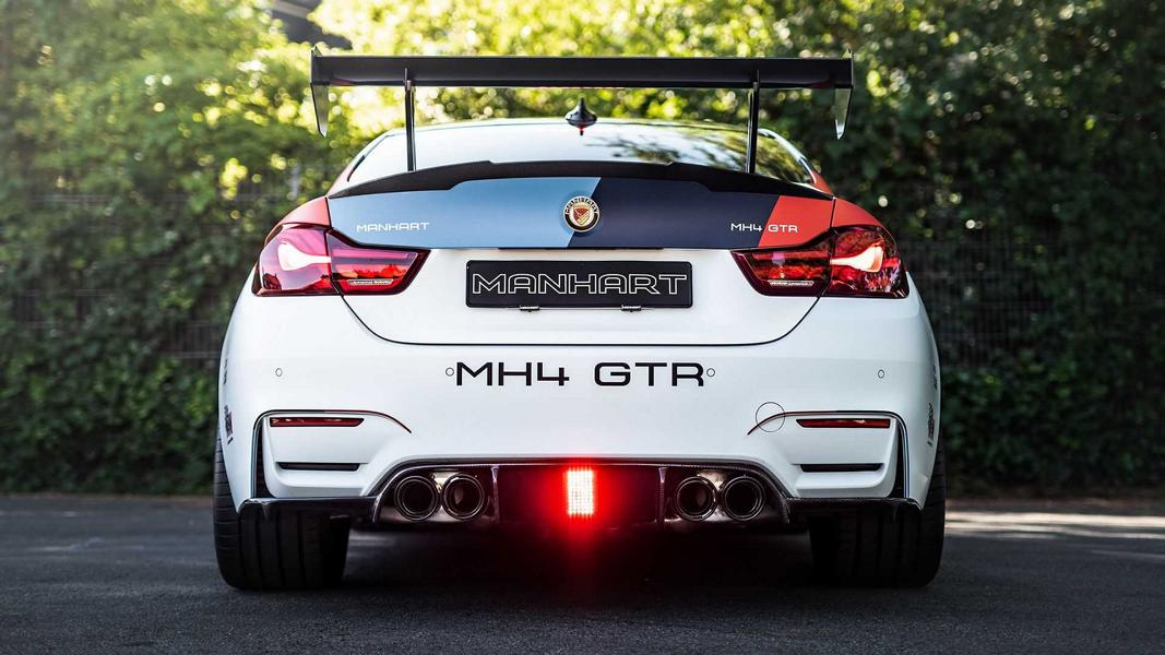 Manhart MH4 GTR Champion Edition BMW M4 Tuning F82 4 708 PS! Manhart MH4 GTR als getunte Champion Edition!