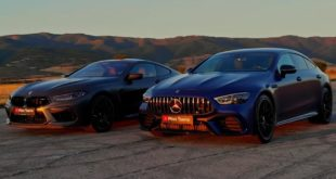 Mercedes AMG GT63 S vs. BMW M8 Competition 1 310x165 Video: Mercedes AMG GT63 S vs. BMW M8 Competition!