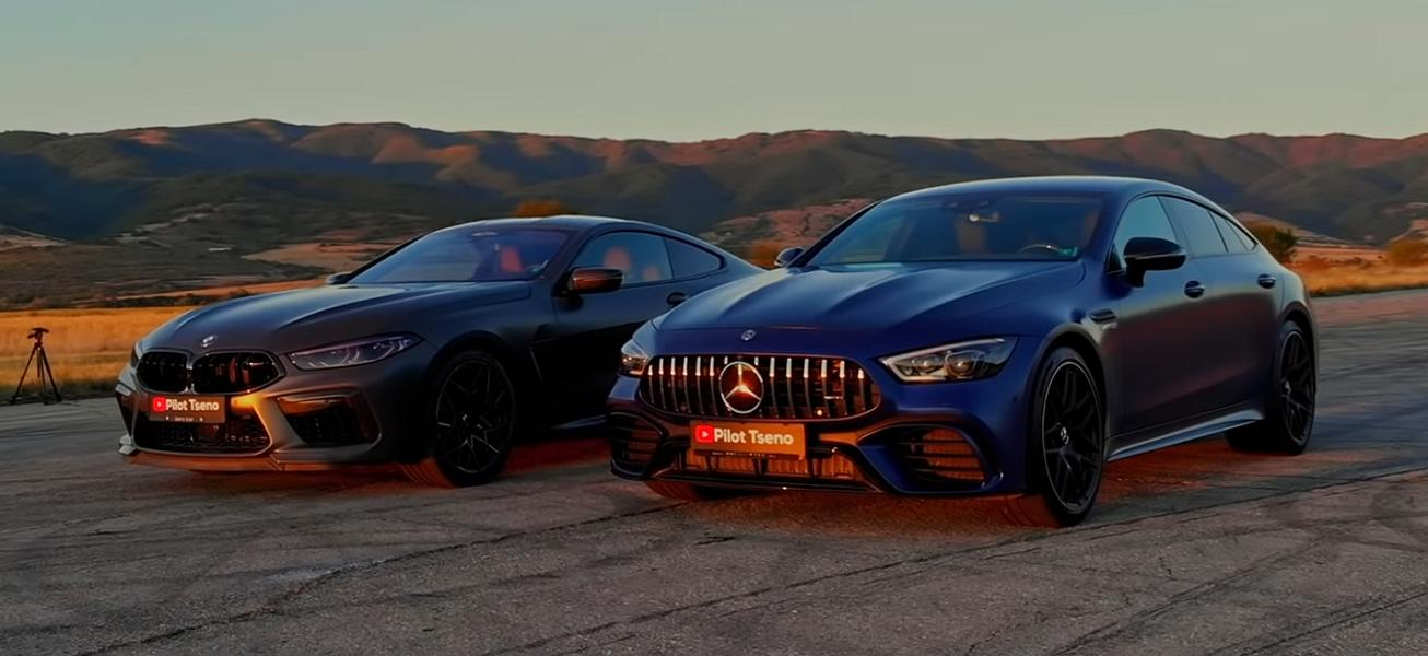 Mercedes AMG GT63 S vs. BMW M8 Competition 1 Video: Mercedes AMG GT63 S vs. BMW M8 Competition!