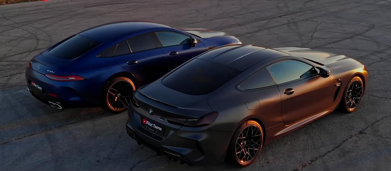 Mercedes AMG GT63 S vs. BMW M8 Competition 2 Video: Mercedes AMG GT63 S vs. BMW M8 Competition!