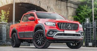 Mercedes X Class W 470 Catwalk Chic Kahn Design Tuning 14 310x165 Chelsea Truck Company Jeep Wrangler CJ400 Protest Edition