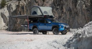 Mitsubishi L200 kitchen extension Pick up 5 310x165 The Mitsubishi L200 becomes a mobile gourmet temple!